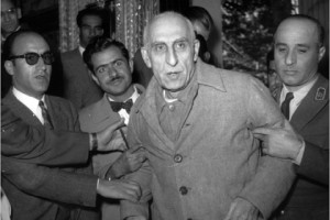 After the coup. Mossadegh was court-martialed and sentenced to house arrest for life. AP photo.