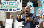 A protest to defend net neutrality in Washington, D.C. on May 18. (Free Press)