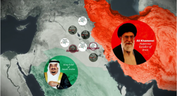 Vox presents Iran as the Shia Saudi Arabia, and Saudi Arabia as the Sunni Iran.