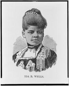 Ida B. Wells. Library of Congress
