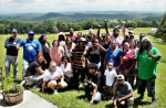 Fight for $15 activists from Charleston, South Carolina, and other communities around the South recently gathered for an organizing workshop at the Highlander Center in Tennessee. (Photo by Kerry Taylor.)