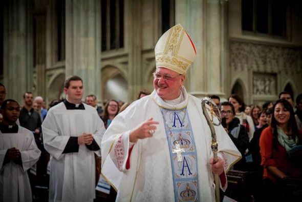 Cardinal Dolan (via Facebook).