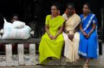 COMMENTS  Women gather in a village near Mysore, India. (Adam Jones ) (CC-BY-SA)