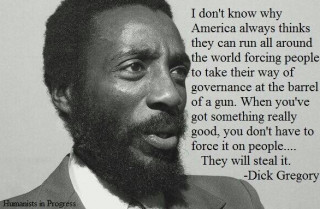 Dick Gregory US empire