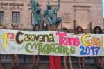 Members of the Rainbow 16 pose in Saltillo, Coahuila, Mexico. (WNV / Diversidad sin Fronteras)
