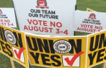 Workers voted 2,244-1,307 against joining the United Auto Workers, after a 12-year campaign to organize the mile-long Nissan plant in Canton, Mississippi.