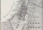 Map of Palestine National Geographic 1947