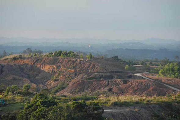 New landscape of Kalimantan New landscape of Kalimantan