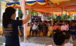 """Image: US Knows best. NDI """"teaches"""" Cambodians how to run their nation."""