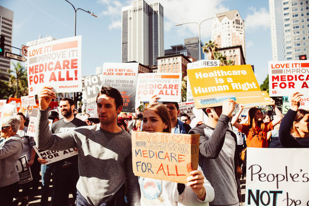 Medicare-for-All may be closer than many persons think. (Photo: Molly Adams)