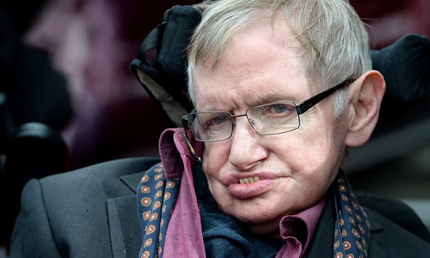 Stephen Hawking said the crisis in the NHS has been caused by political decisions. Photograph: Dave J Hogan/Getty Images
