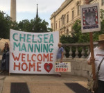 Chelsea Manning welcome home Bmore MAy 19, 2017
