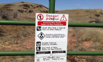 IMG_2409 - danger sign at riley pass mine