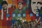 Mural Commemorating the Bolivarian Revolution from Monthly Review