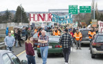 Protesters Block Highway in Bellingham, WA in No DAPL Protest