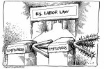"""U.S. Labor Law"" Carol Simpson Productions, 1991"