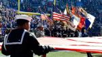 The NFL has refunded more than $723,000 to the U.S. government for marketing agreements sponsoring acts of patriotism -- including on-field flag ceremonies and tributes to welcome home veterans -- between 2012 to 2015. Tommy Gilligan/USA TODAY Sports