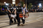 St. Louis Police arrest protesters after acauittal. Source Associated Press.