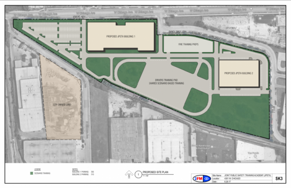 The new police training academy will be built in Chicago's West Garfield Park. (Photo: City of Chicago)
