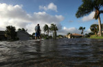 Hurricane Irma struck Florida on Sept. 10 with powerful winds and a storm surge as Houston was still draining from 50 inches of rainfall from Hurricane Harvey. Credit: Mark Wilson/Getty Images