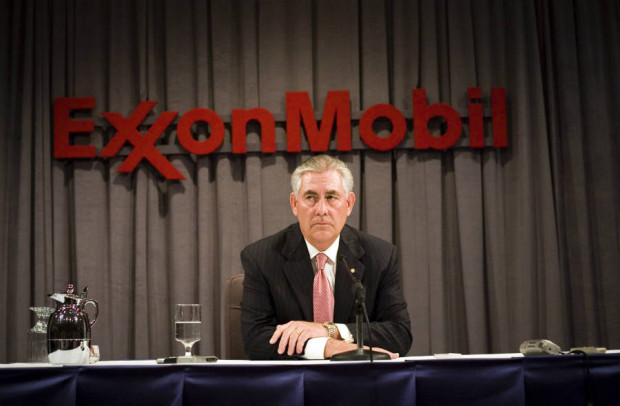 U.S. Secretary of State Rex Tillerson was Exxon's CEO from 2006 to 2016. A subpoena of records held by Exxon's auditor targets 2010 to the present. Credit: Brian Harkin/Getty Images