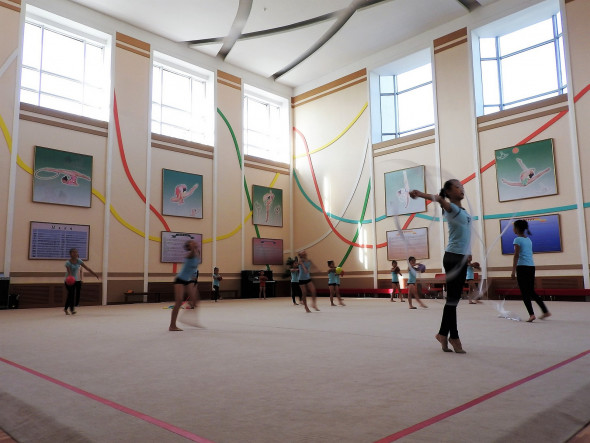 The Mangyongdae Children's Palace in Pyongyang is a sprawling extra-curricular facility offering children lessons in sports, dance and music (Korean and non), foreign languages, science, computers, calligraphy and embroidery, and more. Around 5,000 children daily attend this facility. They may indeed be the most talented children in Pyongyang and surroundings, but encouraging the growth of talent is something done worldwide. Unlike in many Western nations, in the DPRK lessons are free of charge.