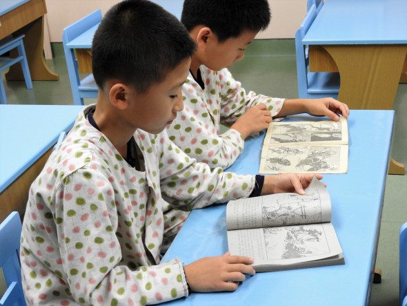 The Children's Hospital provides classes to inpatient children to continue their studies while in hospital.