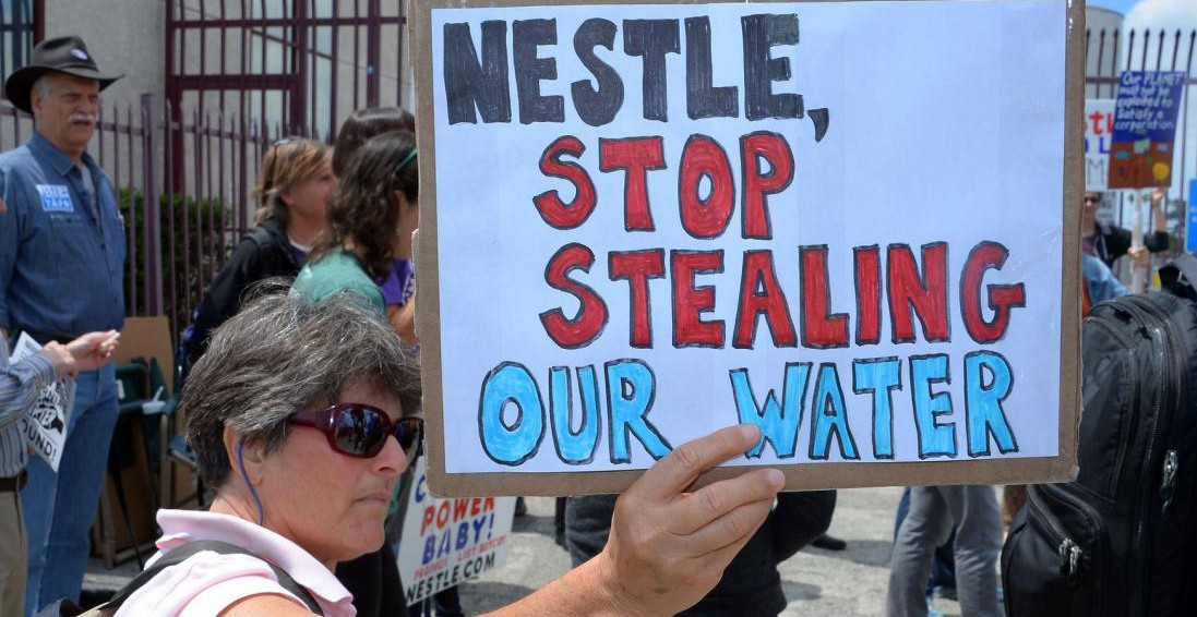 Coalition Of Water Protectors Call For Nestlé Boycott