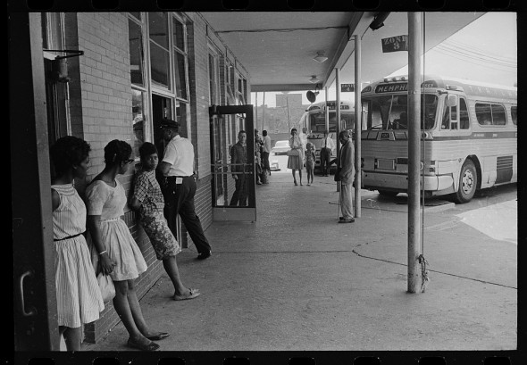 Segregation in Albany — Trailways bus terminal. (Photo by Warren K. Leffler, 1962. Image courtesy of the Library of Congress)