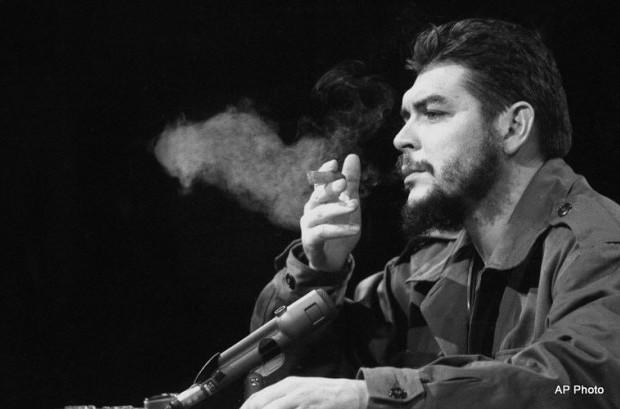 "Latin American revolutionary Ernesto ""Che"" Guevara is seen in 1964."
