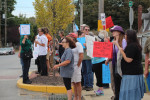 Indivisible protest against Paul Ryan in Chestertown, MD October7 2017 By Leann Schenke