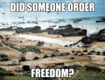 Military Did Someone Order Freedom