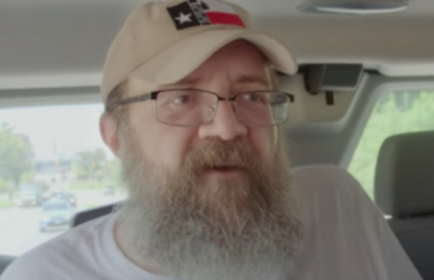 Robert Warren Ray blogs for the Daily Stormer, a neo-Nazi website. Photo Credit: YouTube Screengrab
