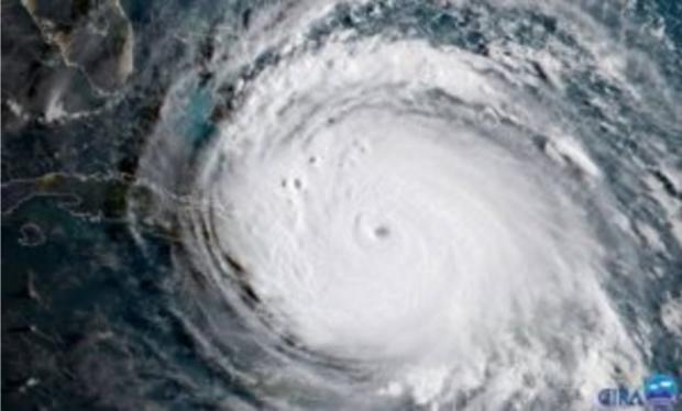 Hurricane Irma as seen from space. (NASA photo)