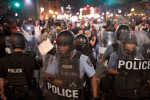 St. Louis Police chant 'Whose streets, our streets'