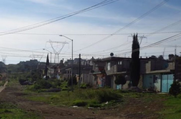 n contrast to the wealthy part of Puebla, a poorer suburb on the edge of the city. Photo: Tamara Pearson.