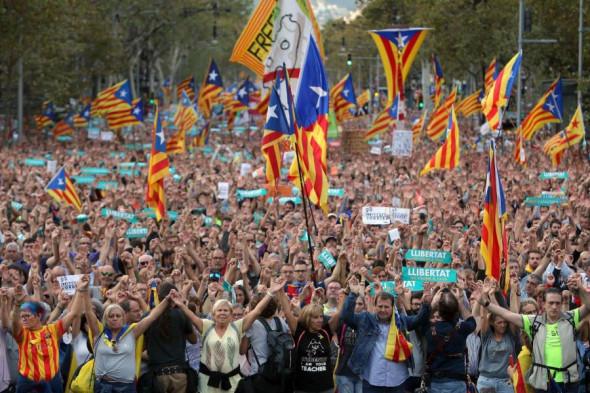 barcelona-protest