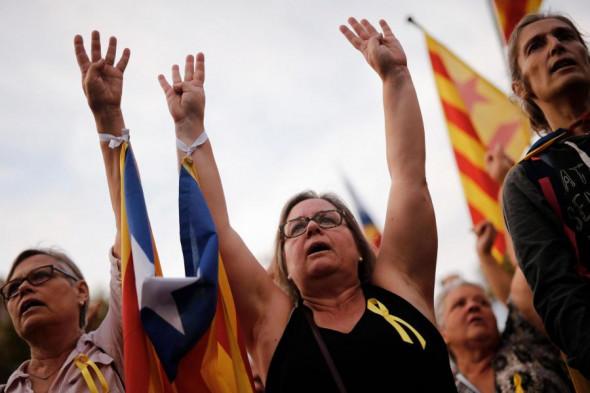 barcelona-protesters