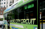 Nashville is one of several cities that have started integrating electric buses into their routes. The buses are more expensive up front but save cities money on fuel and other costs. Credit: Proterra