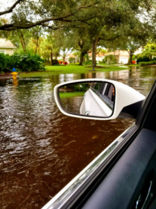 A driver's view after Irma