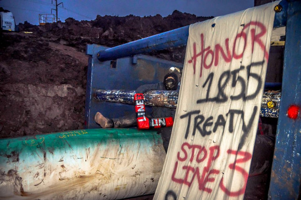 Water Protectors Shut Down Pipeline Construction In