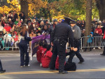 Undocumented youth  block Macy's Day Parade 11-23-17