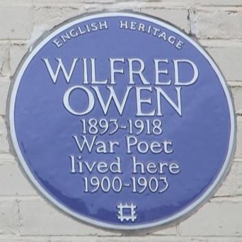 Wilfred Own Peace Poet