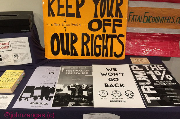 official photos 57735 66fe2 By John Zangas for DCMG - Washington, DCA free exhibit called Protest  Matters was organized by a local anthropologist to showcase items used at  protests and ...