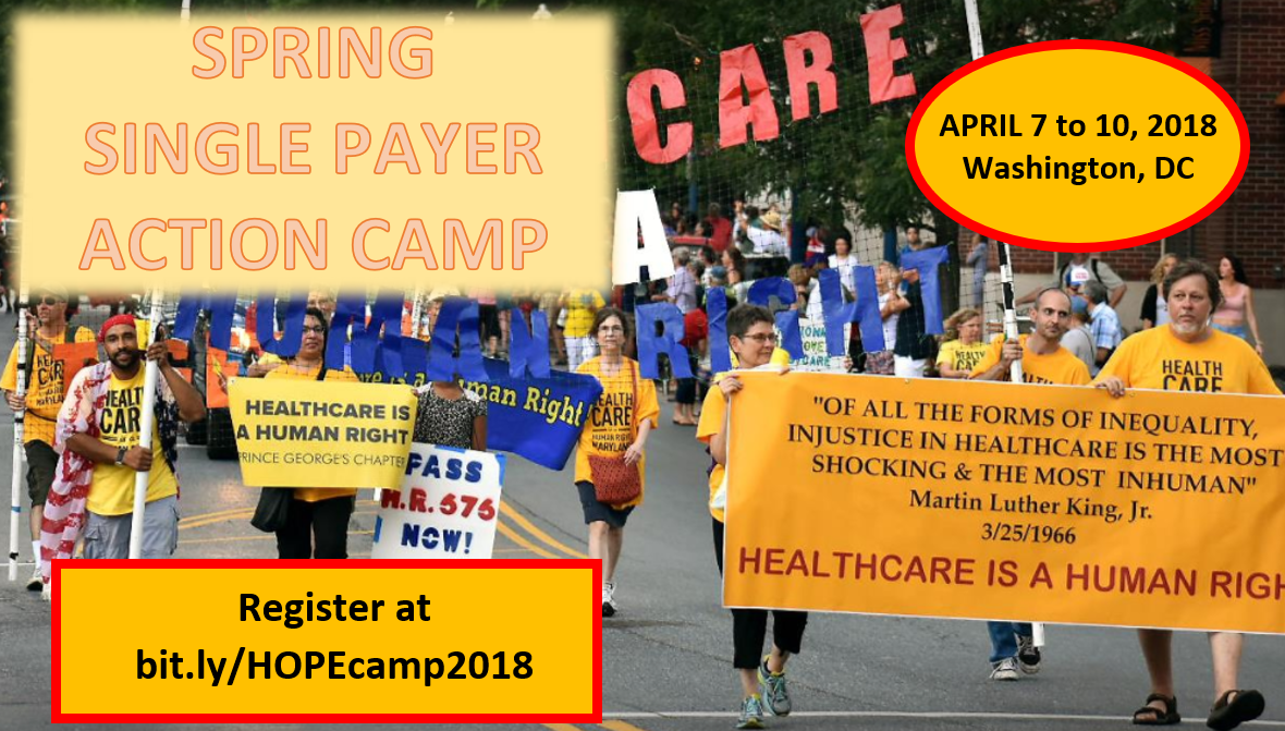 Spring 2018 Single Payer Action Camp