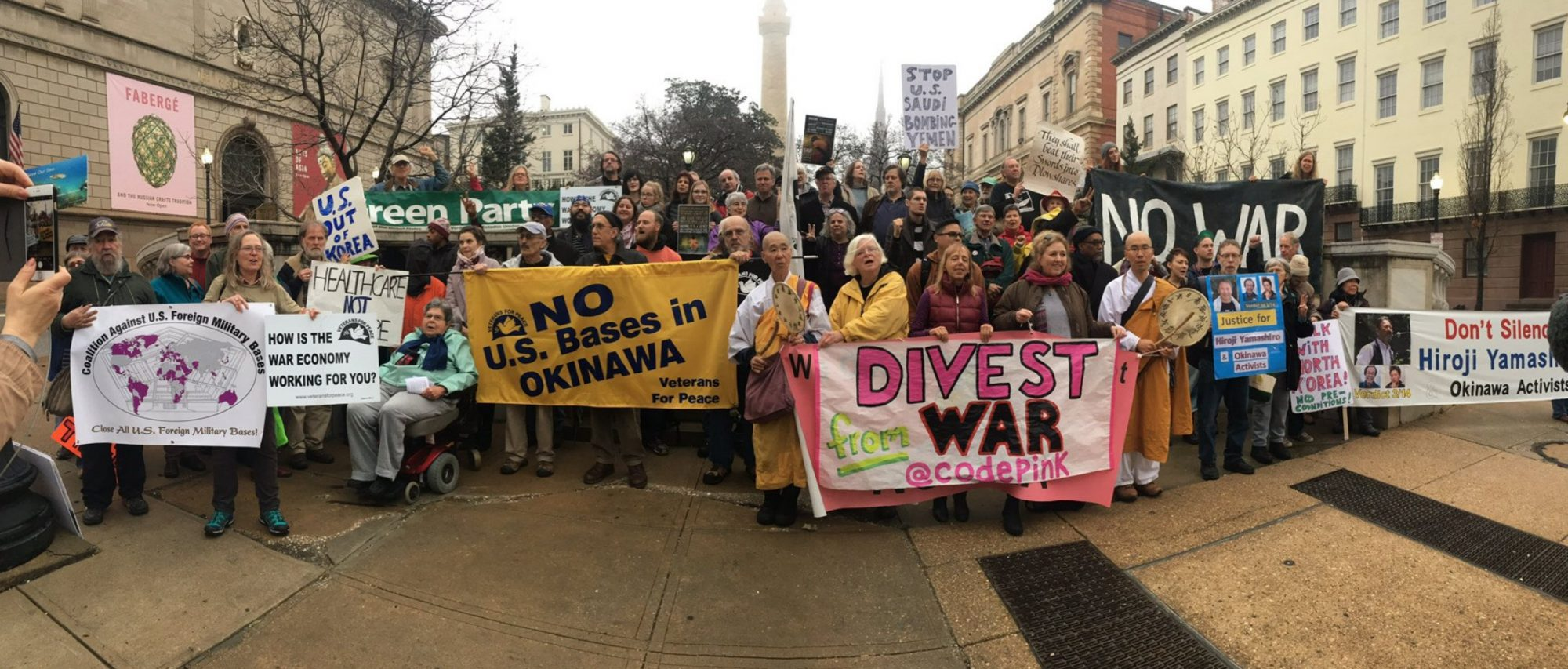 Day Of Action Against US Wars At Home And Abroad