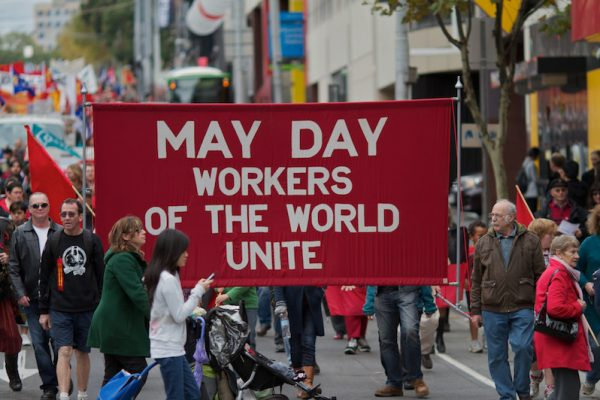 may day workers of the world unite melbourne australia in 2012. by johan fantenberg flickr e1525017222768