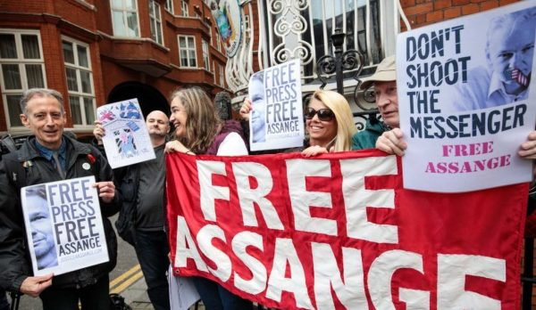 Assange case represents the future of a free press