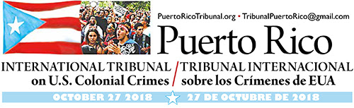 People's Tribunal On US Crimes Against Puerto Rico