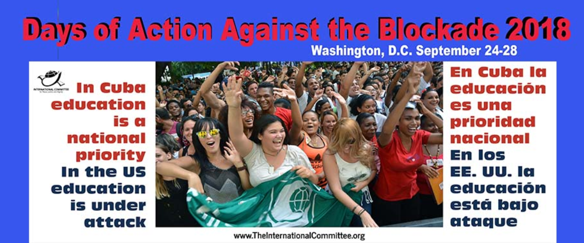 Days Of Action Against The Blockade